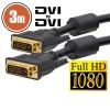Dual-link DVI kábel 3 m 20391
