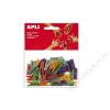 APLI Csipesz, fa, 25x3 mm, APLI, színes (LCA13479)
