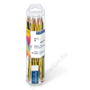 STAEDTLER Grafitceruza készlet, ajándék radírral, HB, hatszögletű, STAEDTLER Noris (TS61120P1)