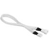 Bitfenix 3-Pin hosszabbító 30cm - sleeved fehér/fehér