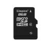 Kingston Card MICRO SD Kingston 8GB Adapter nélkül CL4 memóriakártya