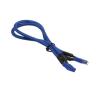 Bitfenix 4-Pin ATX12V hosszabbító 45cm - sleeved kék/kék modding