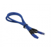 Bitfenix internal USB hosszabbító 30cm - sleeved kék/kék