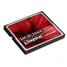 Kingston Card CF Kingston Ultimate MediaRECOVER 16GB 266X memóriakártya