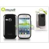 Muvit Samsung S6310 Galaxy Young hátlap - Muvit miniGel Glazy - black