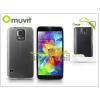 Muvit Samsung SM-G900 Galaxy S5 kristály hátlap - Muvit Clear Back - clear