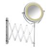 WENKO 365779 Kozmetikai tükör fali LED világítással