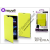 Made for Xperia MUVIT Sony Xperia Z1 Compact (D5503) flipes tok - Made for Xperia Muvit Easy Folio - lime