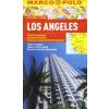 Los Angeles vízhatlan várostérkép tömegközlekedéssel - Marco Polo