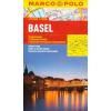 Basel vízhatlan várostérkép tömegközlekedéssel - Marco Polo