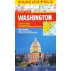Washington vízhatlan várostérkép tömegközlekedéssel - Marco Polo