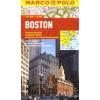 Boston vízhatlan várostérkép tömegközlekedéssel - Marco Polo