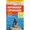 Koppenhága vízhatlan várostérkép tömegközlekedéssel - Marco Polo