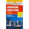 Hongkong vízhatlan várostérkép tömegközlekedéssel - Marco Polo