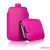 CELLECT Galaxy Note 3 méretű slim bőr tok,Pink
