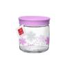 Bormioli Rocco 04267 Üveg tetővel lila palack, üveg