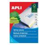 APLI APLI uni. 210x420mm A3 100db/cs | Általános etikettek etikett