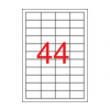 APLI APLI uni. 48,5x25,4mm 4400db/cs | Általános etikettek