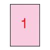 APLI APLI 210x297mm színes pasztell rózsaszín 20db/cs | Színes etikettek