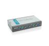 D-Link KVM Switch DKVM-4K PS/2+2 Kábel hub és switch