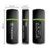 Transcend USB Card Reader SDHC/MMC/microSDHC/M2 fekete