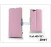Kalaideng Sony Xperia Z1 Compact (D5503) flipes tok - Kalaideng Swift Series - pink tok és táska