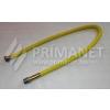Flexi gáztömlő 3/4-3/4 KB 750/1500 sárga bevonat