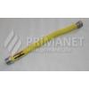 Flexi gáztömlő 1/2-1/2 KB 500/1000 sárga bevonat