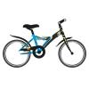 Stucchi Mountain bike fiúknak 20″-as kék/fekete (Young Warrior S630)
