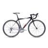 Országúti versenykerékpár Carratt Bayron C200, 54-es, 9×3 sebesség (Shimano Sora), króm/szürke