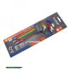 imbuszkulcs klt., 9db, több színű, extra hosszú; gömbfej, 9db 1,5-10mm, CV., 90-230mm