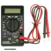 digitális multiméter; Amper/Volt/Ohm mérő, hangjelző funkcióval, CE, 1 db 9V elem