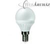 LED izzó, kis gömb, E14-es foglalat, 320lm, 4W, 2700K, meleg fehér, ACME