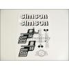 SIMSON MATRICA KLT. S50B FEHÉR / SIMSON - 50