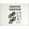 SIMSON MATRICA KLT. S50B EZÜST / SIMSON - 50