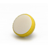 Tépőzáras sárga polírozó korong durva 80x25