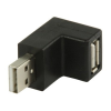 Valueline USB könyök adapter 270°