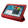 4world Galaxy Tab 2 7.0 tok állvány piros Folded Case (09109)