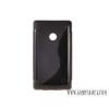 CELLECT Nokia X Dual SIM szilikon hátlap,Fekete