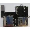 HTC Desire 600 sim és memóriakártya olvasós átvezető fólia*