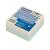 DONAU Öntapadó jegyzettömb, 76x76mm, 4x100 lap, , színes