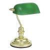 """EGLO Asztali lámpa, 60 W, """"Banker"""", zöld"""