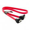 4world HDD Cable   SATA 3   SATA   45cm   right   latching   red