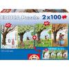 Educa Évszakok 2 x 100 db-os puzzle