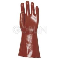 Euro Protection Vygen 36 cm-es, bordó sav-, lúg-, olajálló kesztyû higiénikus Actifresh® kiképzéssel