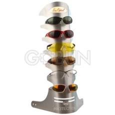 Lux Optical® Lux Optical fém bemutatóállvány 6 db szemüveghez