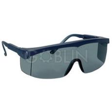 Lux Optical® Pivolux védõszemüveg, kék keret, sötétített lencse, állítható dõlésszög és...
