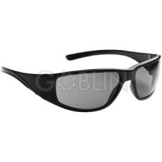 Lux Optical® Fairlux védõszemüveg, színezett füstszürke, páramentes lencse, fekete keret