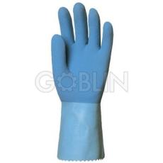 Euro Protection Csúszásmentes 1,3 mm vastag kék gumikesztyû