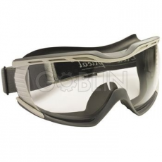 Lux Optical® Biolux védõszemüveg, színtelen páramentes pc. lencse, formatervezett flexibilis PVC keret